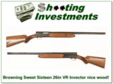 Browning A5 Sweet Sixteen 26in Invector nice wood! - 1 of 4
