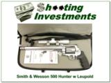 Smith & Wesson Performance Center 500 Hunter with Leupold! - 1 of 3