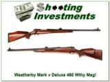 Weatherby Mark V Custom Deluxe 460 Exc Cond! - 1 of 4