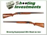 Browning Superposed 68 Belgium 20 Gauge as new 28 in Skeet! - 1 of 4