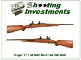Ruger Model 77 early Flat Bolt 308 Winchester! - 1 of 4