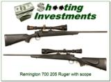 Remington Model 700 204 Ruger with scope - 1 of 4
