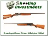 Browning A5 Sweet Sixteen 65 Belgium 28in Modified - 1 of 4