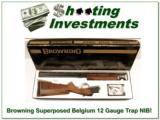 Browning Superposed Lightning Trap 12 Gauge NIB Perfect! - 1 of 4
