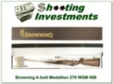 Browning A-bolt II Medallion 270 WSM last ones! - 1 of 4