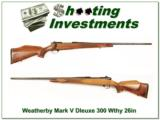Weatherby Mark Deluxe 300 Wthy Mag 26in Exc Cond! - 1 of 4