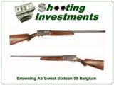 Browning A5 Sweet Sixteen 1959 Belgium! - 1 of 4
