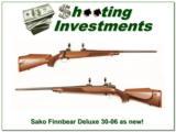Sako 75 Deluxe in 30-06 as new! - 1 of 4