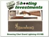 Citori Gran Lightning 410 Gauge 26in NIB XX Wood! - 1 of 4
