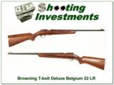 Browning T-Bolt T2 Deluxe 67 Belgium- 1 of 4
