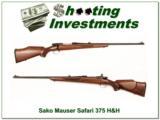 Sako Safari Mauser in 375 H&H Bofers Steel, Exc Cond! - 1 of 4