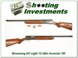 Browning A5 Light 12 26in VR Invector! - 1 of 4