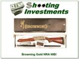 Browning Gold 12 Gauge NRA High Grade Belgium made!- 1 of 4