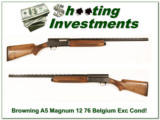 Browning A5 Magnum 12 76 Belgium 28in VR Mod! - 1 of 4