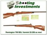 Remington 700 BDL Varmint in 22-250 Rem Exc Cond!- 1 of 4
