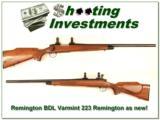 Remington 700 BDL Varmint Special 223 Rem as new! - 1 of 4