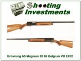 Browning A5 Magnum 20 69 Belgium VR EXC Cond! - 1 of 4