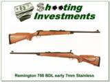 Remington 700 BDL Vintage Pressed Checkering Stainless! - 1 of 4