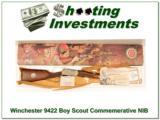 Winchester 9422 Boy Scout Commemorative XX Wood NIB! - 1 of 4