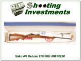 Sako Finnbear Deluxe AIII 270 NEW UNFIRED BOX! - 1 of 4