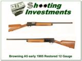 Browning VERY EARLY 105 A5 16 Gauge restored- 1 of 4