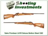 Sako Finnbear L61R Deluxe Pre-Garcia Bofers Steel 338 Win! - 1 of 4