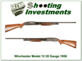 Winchester Model 12 1958 made 20 gauge! - 1 of 4