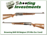 Browning BAR 69 Belgium 270 Exc Cond! - 1 of 4