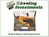 Smith & Wesson CS9 Chiefs Special 9mm in box! - 1 of 4