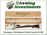 Remington 700 22-250 Varmint Stainless Fluted in the box! - 1 of 4
