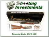 Browning Model 42 High Grade unfired in box! - 1 of 4