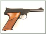 Colt Woodsman 3rd Series Sport 4.5in in box MINT! - 2 of 4