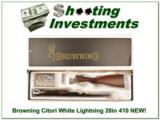 Browning Citori White Lightning 410 28in factory new! - 1 of 4