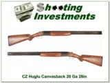 CZ Huglu Canvasback harder to find 28in 20 gauge Exc Cond!- 1 of 4