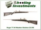 "Ruger 77 All-Weather ""Skeleton"" 22-250 Rem Exc Cond - 1 of 4"