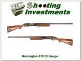 Remington 870 12 Gauge 30in Vent Rib Exc Cond! - 1 of 4