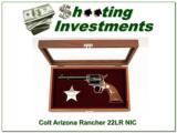 Colt Arizona Ranger22LR NIC!