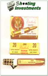 Weatherby 300 Wthy Magnum vintage ammo 180 grain