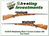 Weatherby Custom Crown 300 as new!
