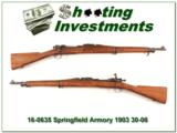 Springfield Armory 1903 30-06 nice original gun!