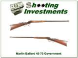 Marlin Ballard in 45-70 Government