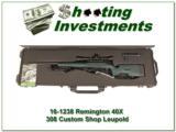 Remington 40-X Sniper rifle set 308 Win Leupold Mark 3