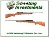Weatherby Mark XXII Italian Deluxe collector!