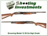 Browning Model 12 High Grade 28 Gauge XX Wood!