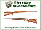 Browning Medallion Grade Belgium 22-250 Collector!