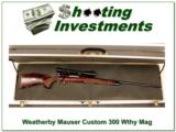 Weatherby 1956 Mauser 300 Wthy Mag Crown 26in Exc Cond!