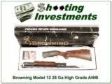 Browning Model 12 High Grade 5 28 Gauge ANIB
