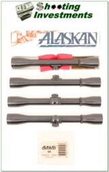 Leupold Alaskan 6X scope NIB with rings!