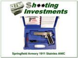 Springfield Armory 1911 Stainless ANIC