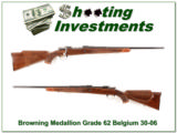 Browning Medallion Grade 30-06 62 Belgium collector!